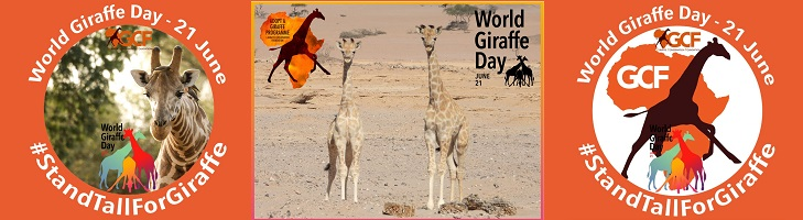 ondersteunt giraffen dag