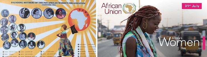 ondersteunen dag van de afrikaanse vrouw
