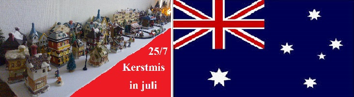 uitlichten kerstmis in juli