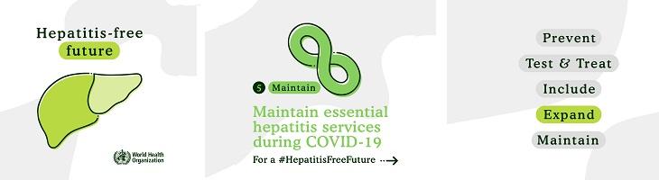 ondersteunen van wereld hepatitis dag