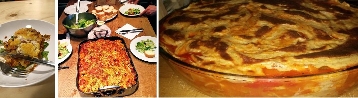 ondersteuning wereld lasagne dag