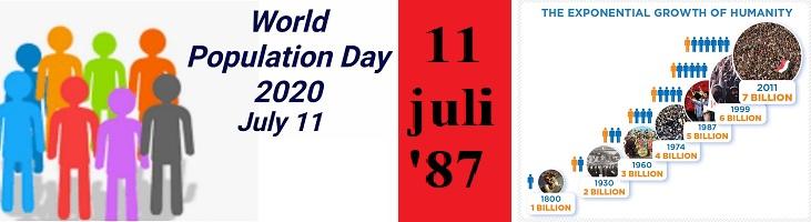uitlichten wereldbevolkingsdag