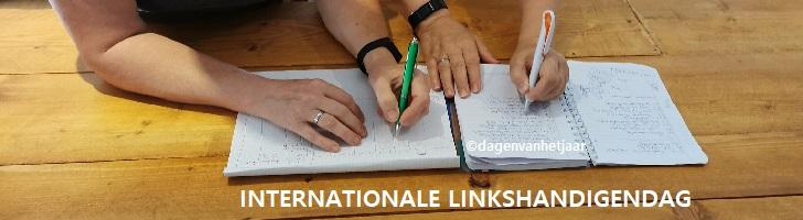 afbeelding ondersteunt internationale linkshandigendag