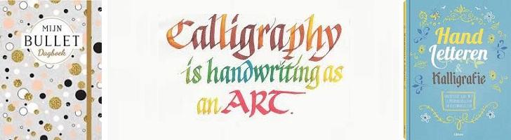 foto ondersteunt kalligrafie blog