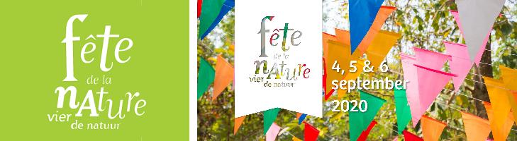 foto is ter ondersteuning van fête de la nature