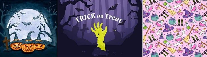 afbeelding versterkt halloween