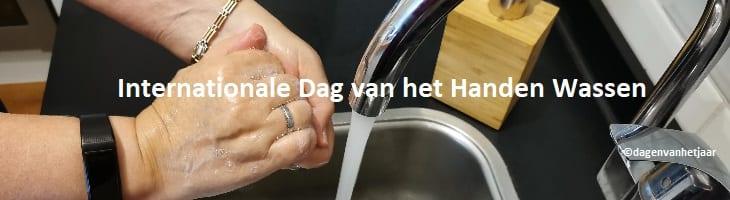 afbeelding ondersteunt dag van het handen wassen
