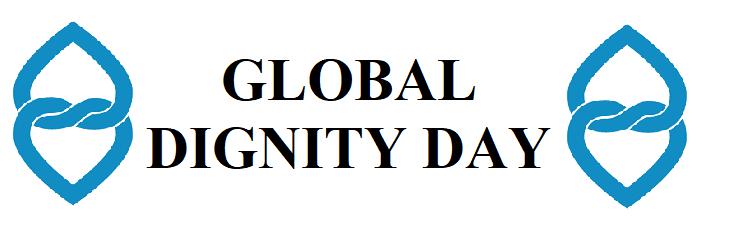afbeelding ondersteunt werelddag van waardigheid