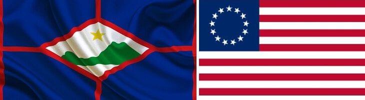 afbeelding versterkt dag van de vlag