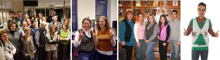 ondersteuning voor blog international sweater vestival
