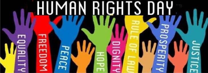 afbeelding versterkt dag van de rechten van de mens