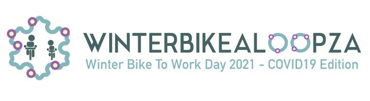 afbeelding versterkt fiets naar je werkdag in winter