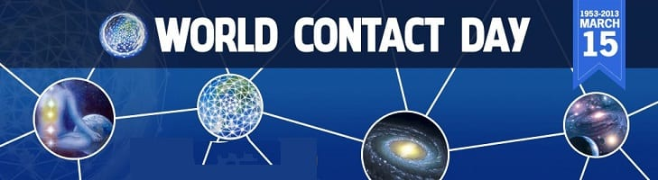 afbeelding versterkt world contact day