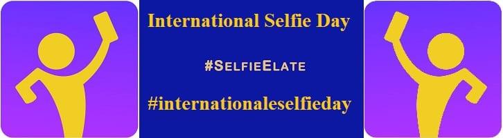 afbeelding versterkt selfie dag