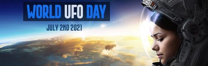 afbeelding versterkt ufo dag
