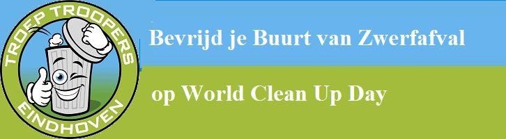 afbeelding versterkt world clean up day